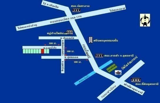 For Sale 2 Beds タウンハウス in Mueang Udon Thani, Udon Thani, Thailand | Ref. TH-BAWEFTNU