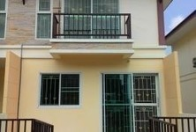 For Rent 2 Beds Townhouse in Bang Bua Thong, Nonthaburi, Thailand