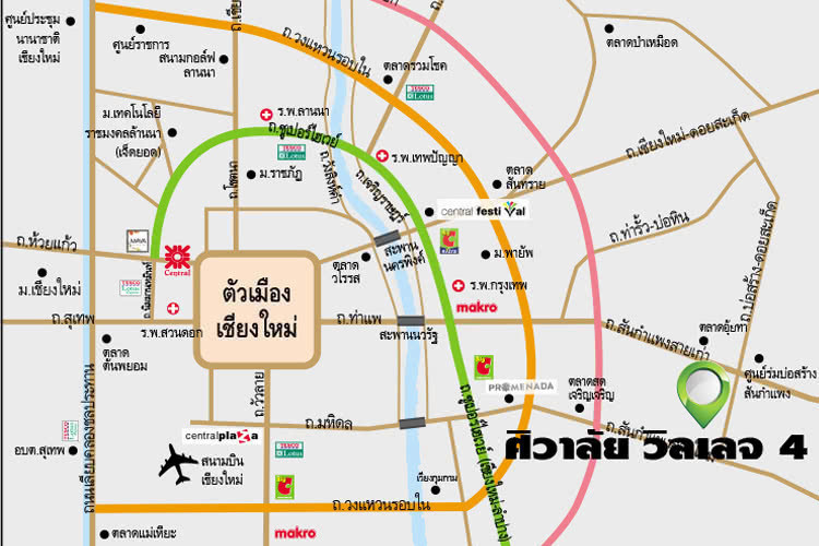 For Sale 4 Beds House in San Kamphaeng, Chiang Mai, Thailand | Ref. TH-SCRIHZWD