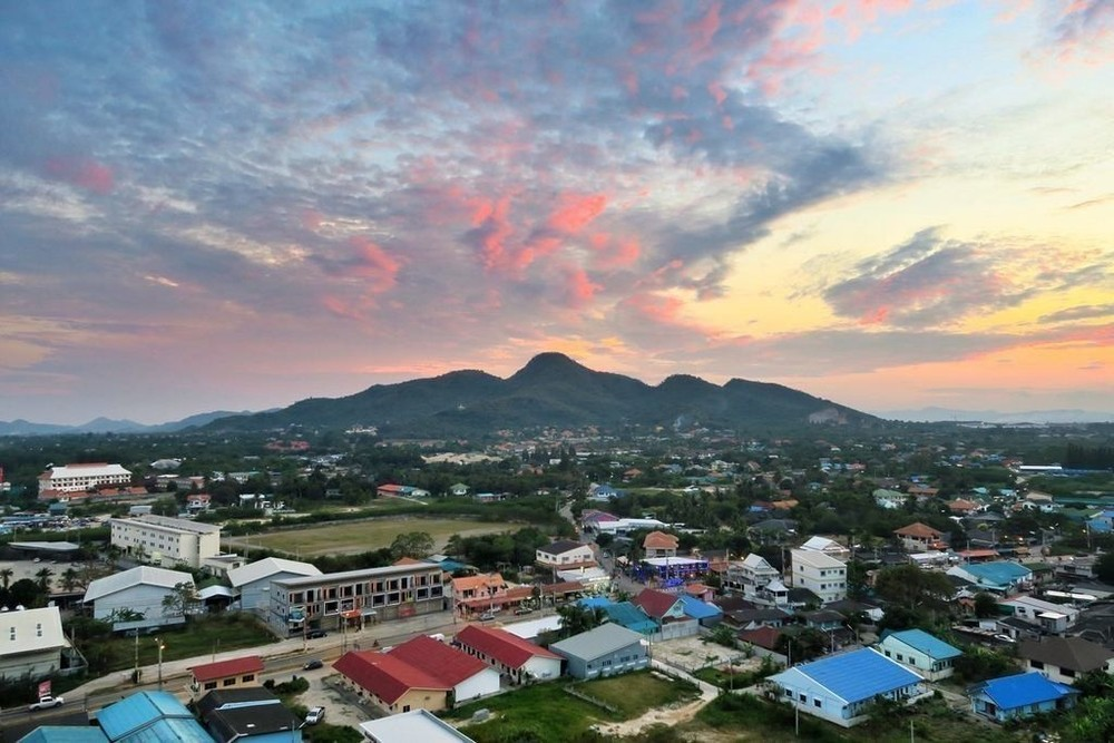 Baan Kiang Fah - For Rent コンド 35 sqm in Hua Hin, Prachuap Khiri Khan, Thailand | Ref. TH-RUGOUYUY