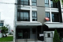 For Sale or Rent 3 Beds Townhouse in Wang Thonglang, Bangkok, Thailand