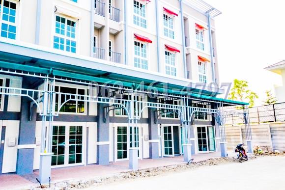 For Rent 2 Beds Shophouse in Pak Kret, Nonthaburi, Thailand | Ref. TH-LPKUIOTQ