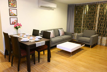 For Rent 2 Beds Condo in Mueang Samut Prakan, Samut Prakan, Thailand