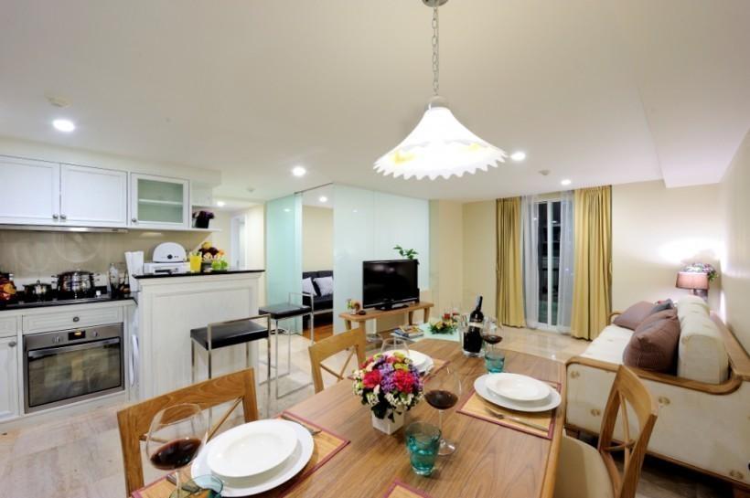 Sabai Sathorn Serviced Apartment For Rent 3 Beds Condo Near Bts