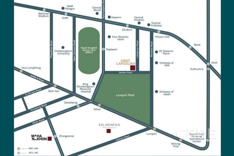 Nimit Langsuan - Продажа: Кондо с 2 спальнями в районе Pathum Wan, Bangkok, Таиланд   Ref. TH-HAFGVKKL