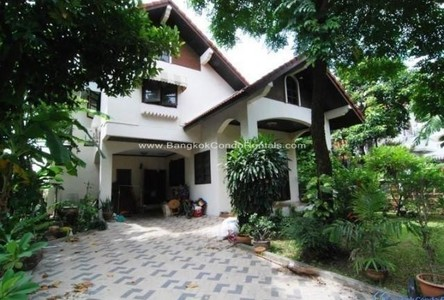 For Rent 3 Beds House in Phra Khanong, Bangkok, Thailand
