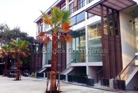 For Rent 1 Bed タウンハウス in Phra Khanong, Bangkok, Thailand