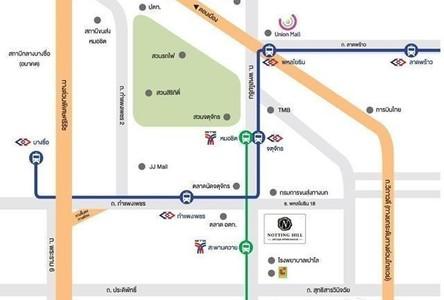 Продажа: Кондо с 2 спальнями возле станции MRT Kamphaeng Phet, Bangkok, Таиланд