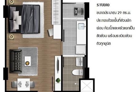 Продажа: Кондо c 1 спальней в районе Bang Bo, Samut Prakan, Таиланд