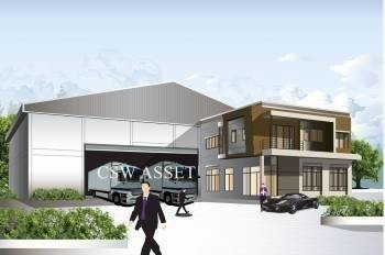 For Sale Warehouse 100 sqm in Bang Bua Thong, Nonthaburi, Thailand | Ref. TH-EAJIVYQJ