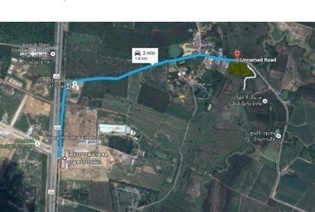 For Sale Land 5 rai in Si Maha Phot, Prachin Buri, Thailand