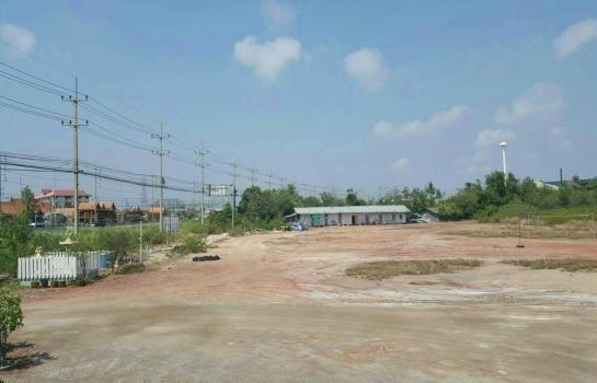 For Sale Land 16 rai in Mueang Samut Sakhon, Samut Sakhon, Thailand | Ref. TH-HRJNUQES