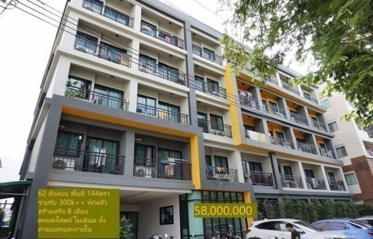 For Sale Apartment Complex 62 rooms in Chatuchak, Bangkok, Thailand | Ref. TH-SBKPSBQT