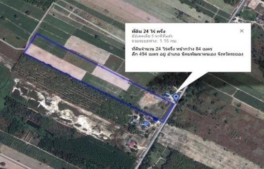 For Sale Land 24 rai in Nikhom Phatthana, Rayong, Thailand | Ref. TH-IWYURTVY
