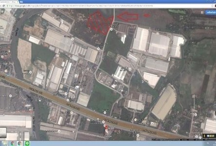 For Sale Land 40 rai in Bang Sao Thong, Samut Prakan, Thailand