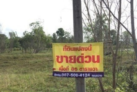 For Sale Land 86 sqwa in Bang Khla, Chachoengsao, Thailand