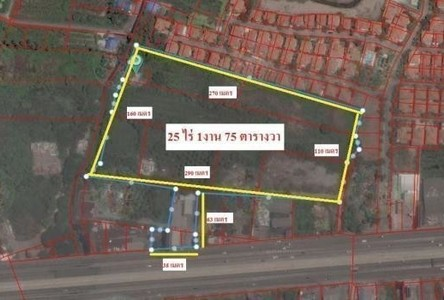 For Sale Land 25 rai in Bang Bua Thong, Nonthaburi, Thailand