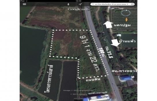 For Sale Land 9-1-22 rai in Mueang Nakhon Pathom, Nakhon Pathom, Thailand | Ref. TH-ZVIMAXCW
