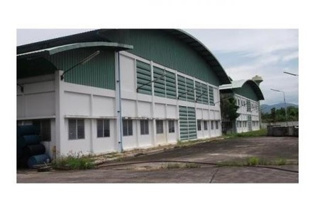 For Sale Warehouse 14 rai in Ban Bueng, Chonburi, Thailand