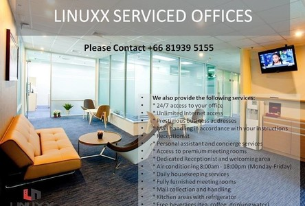 For Rent Office 25 sqm in Pathum Wan, Bangkok, Thailand