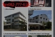 For Sale or Rent Warehouse 4 rai in Lam Luk Ka, Pathum Thani, Thailand
