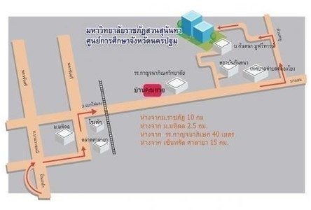 For Rent Apartment Complex 1 rooms in Phutthamonthon, Nakhon Pathom, Thailand