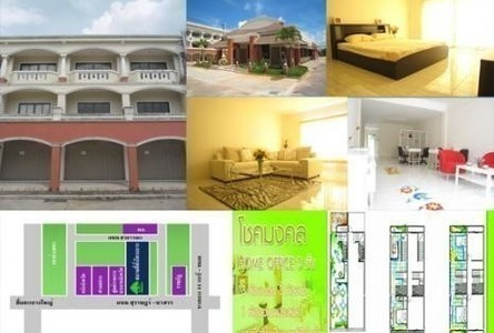 For Rent 3 Beds Shophouse in Mueang Surat Thani, Surat Thani, Thailand