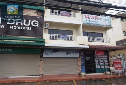 For Rent 3 Beds Shophouse in Mueang Chiang Mai, Chiang Mai, Thailand