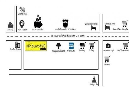 For Sale Warehouse 8 rai in Mueang Chiang Rai, Chiang Rai, Thailand