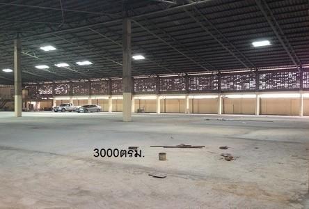 For Rent Warehouse 3,000 sqm in Bang Bon, Bangkok, Thailand