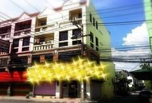 For Sale Shophouse 412 sqm in Huai Khwang, Bangkok, Thailand