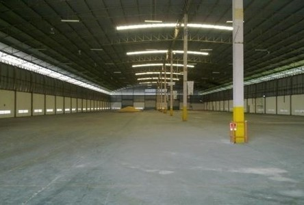 For Rent Warehouse 4,500 sqm in Bang Pakong, Chachoengsao, Thailand