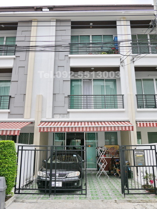For Sale 3 Beds Townhouse in Chatuchak, Bangkok, Thailand | Ref. TH-TJSHYPOU