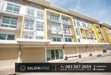 For Sale or Rent Shophouse 18 sqwa in Phutthamonthon, Nakhon Pathom, Thailand