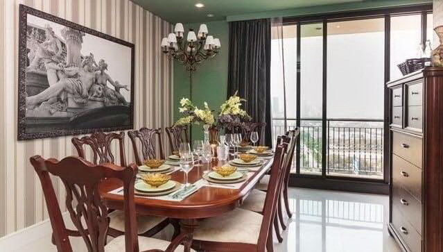 For Rent 3 Beds Condo in Khlong Toei, Bangkok, Thailand | Ref. TH-KZGXZRAI