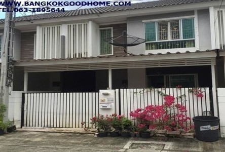 For Sale 3 Beds Townhouse in Thung Khru, Bangkok, Thailand