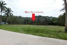 For Sale Land 217 sqwa in Ko Pha-ngan, Surat Thani, Thailand