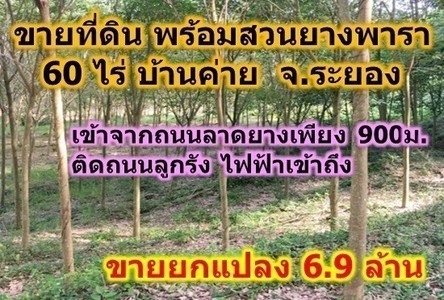 For Sale Land 60 rai in Ban Khai, Rayong, Thailand