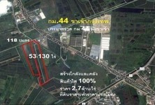 For Sale Land 53 rai in Bang Pakong, Chachoengsao, Thailand