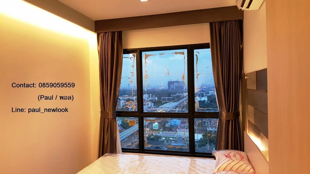 Knightsbridge Sky River Ocean - В аренду: Кондо c 1 спальней в районе Mueang Samut Prakan, Samut Prakan, Таиланд | Ref. TH-YGFBKYYM