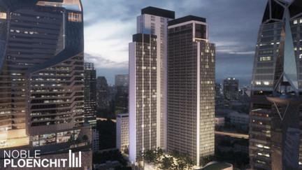 Noble Ploenchit - For Sale 1 Bed コンド Near BTS Phloen Chit, Bangkok, Thailand   Ref. TH-SVZSRFSJ