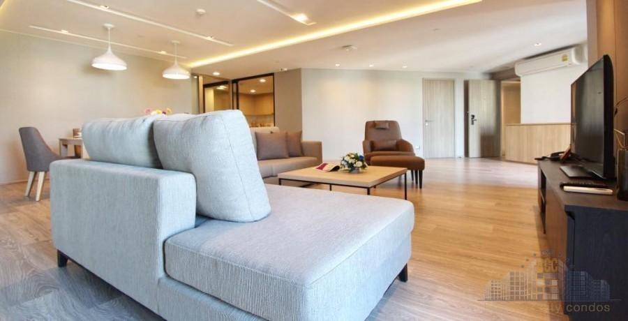 Somerset Lake Point Bangkok - В аренду: Кондо с 3 спальнями в районе Watthana, Bangkok, Таиланд | Ref. TH-UIASWYOK