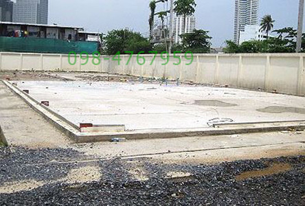 For Sale Land 0-2-14 rai in Yan Nawa, Bangkok, Thailand