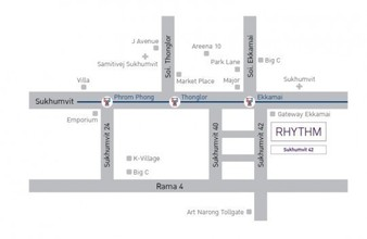 Located in the same area - Rhythm Sukhumvit 42
