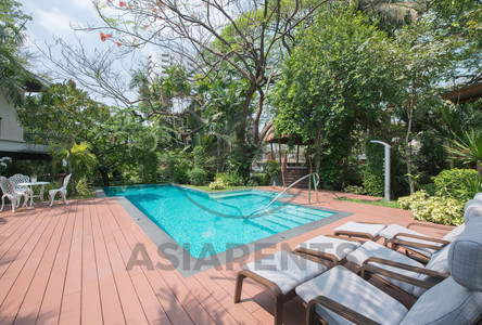 For Rent 4 Beds House in Yan Nawa, Bangkok, Thailand