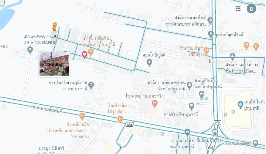ขาย ทาวน์เฮ้าส์ 2 ห้องนอน เมืองปทุมธานี ปทุมธานี | Ref. TH-TDCNWMNE