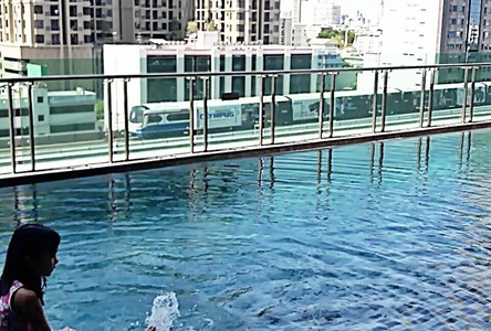 For Rent Condo 28 sqm Near BTS Wong Wian Yai, Bangkok, Thailand