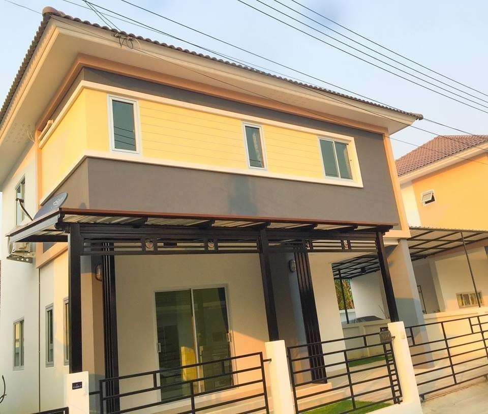 For Sale 3 Beds 一戸建て in Ban Chang, Rayong, Thailand | Ref. TH-GNPCNBGF