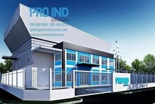 For Rent Warehouse 1,095 sqm in Bang Bo, Samut Prakan, Thailand
