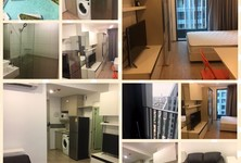 For Rent Condo 22 sqm Near MRT Sam Yan, Bangkok, Thailand